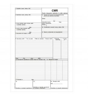 CMR 3 Ex Transport Intern A4 (50*3) Autocopiativ