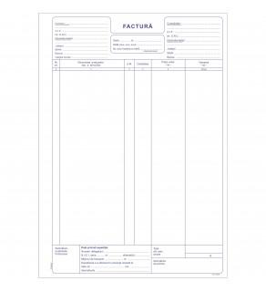 Factura fara TVA A4 (50*3) Autocopiativa