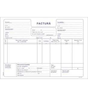 Factura A5 (50*3) Autocopiativa