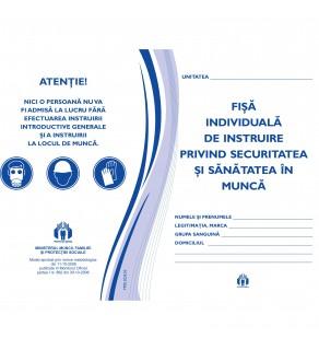 Fisa individuala de instructaj privind Protectia Muncii A5 (12 pag.) Offset