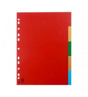 Index plastic 5 culori