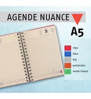 Agenda A5 datata NUANCE