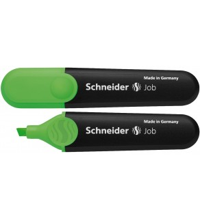 Textmarker Job verde