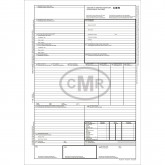 CMR 4 Ex Transport International A4 (25*4) Autocopiativ