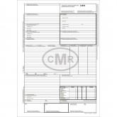 CMR 6 Ex Transport International A4 (25*6) Autocopiativ